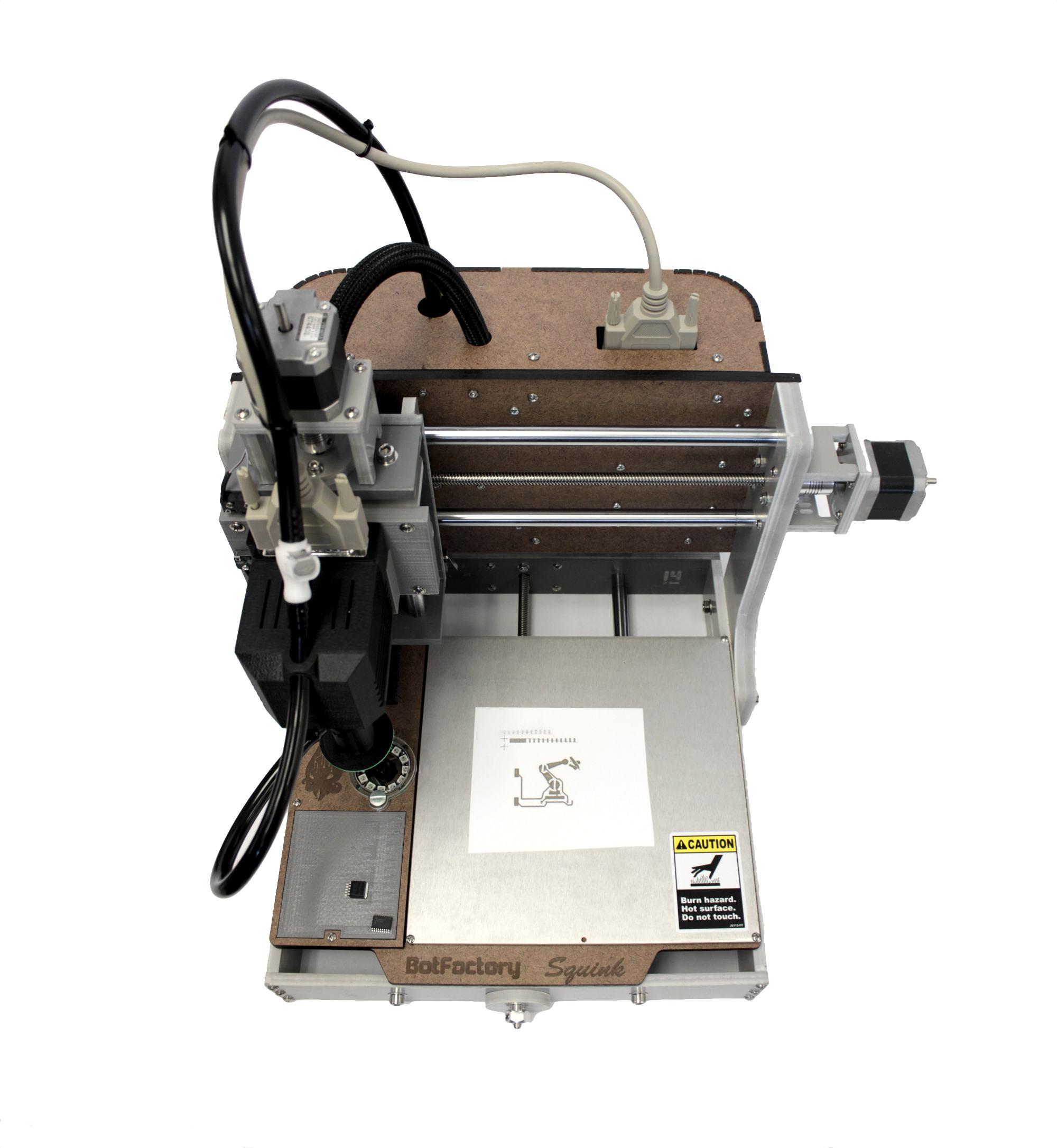 Squink Desktop Pcb Printer Dispensing Assembly Machine Printed Circuit Board Box Build