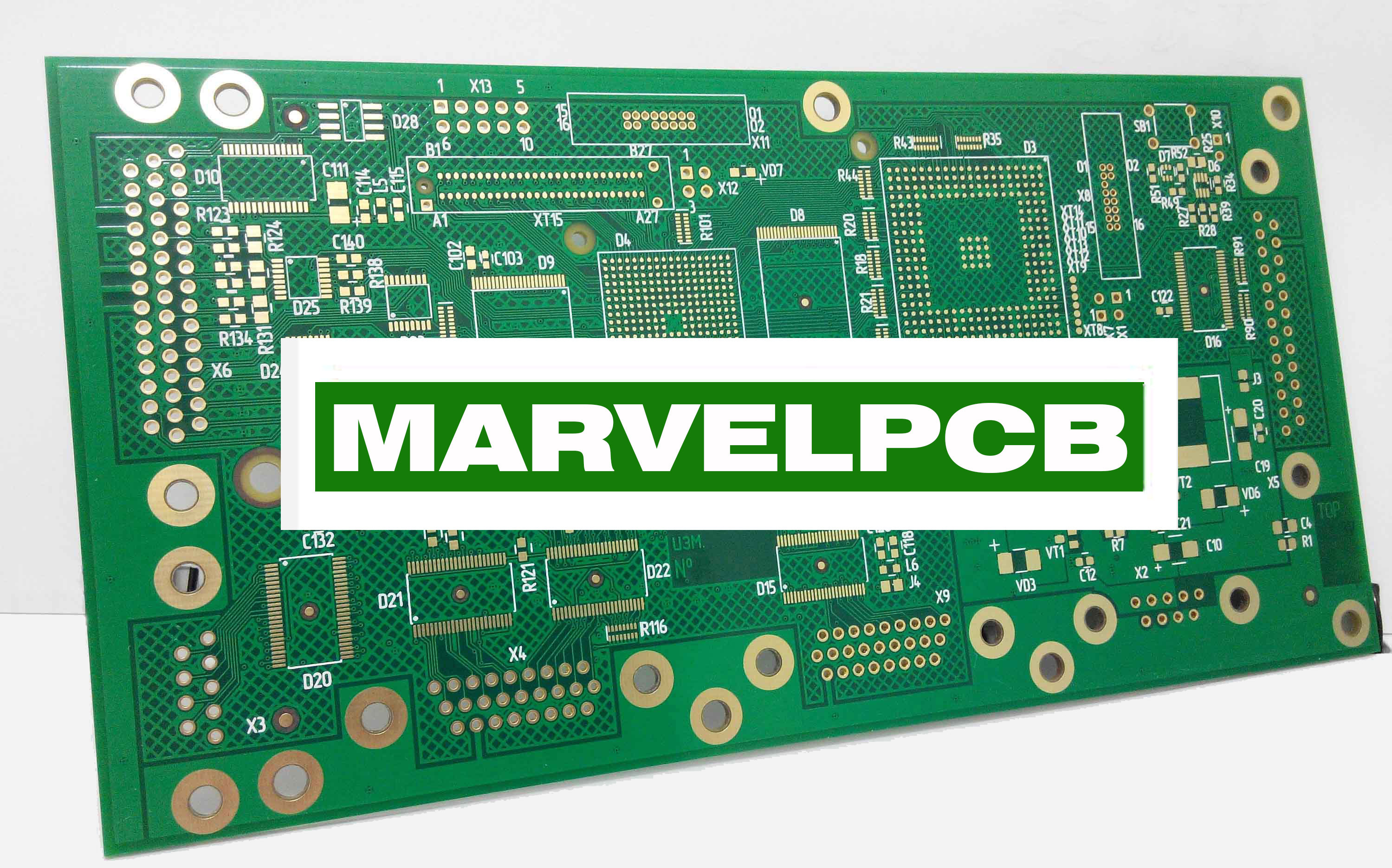 Prototype Making Without Quantities Limit Multilayer Printed Wiring Board Pcb By Marvelpcb