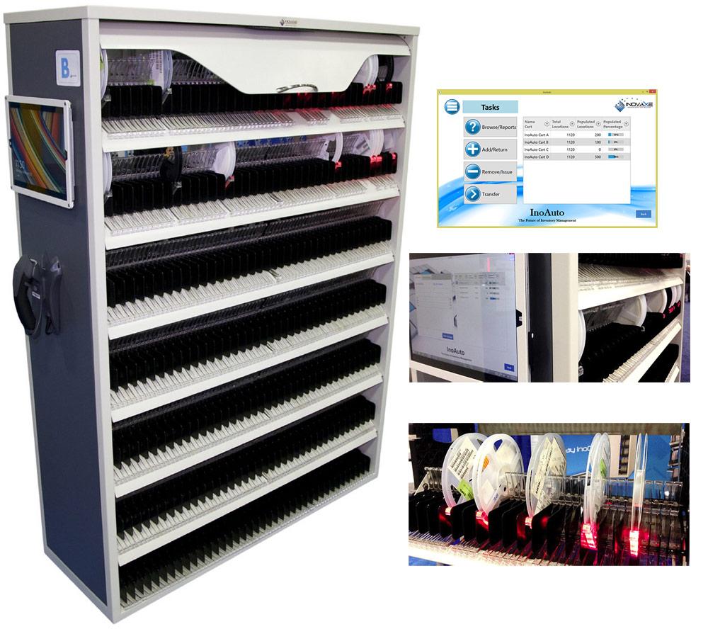 Inocart Inoauto Smart Storage System For Smt Reels