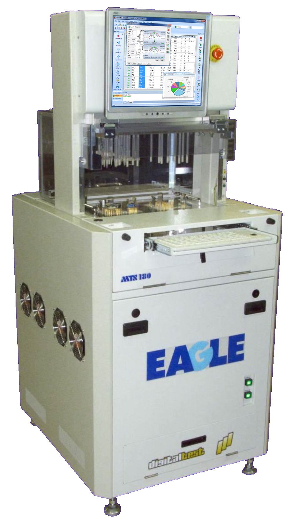 MTS 180 Eagle - ICT Test System with Low Cost Fixturing Solution