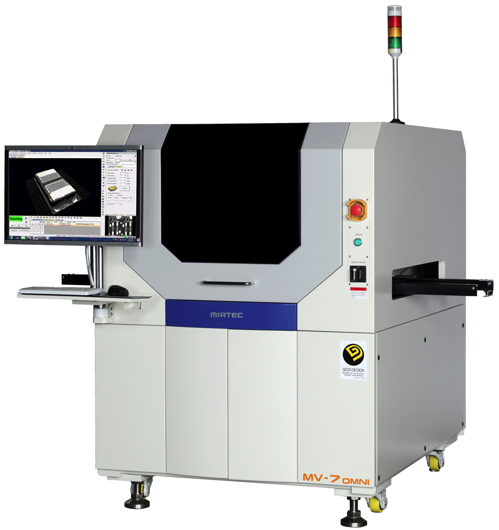 Automated Optical Inspection : Mv omni five camera d in line aoi system