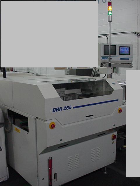 DEK 265 GS Screen Printer