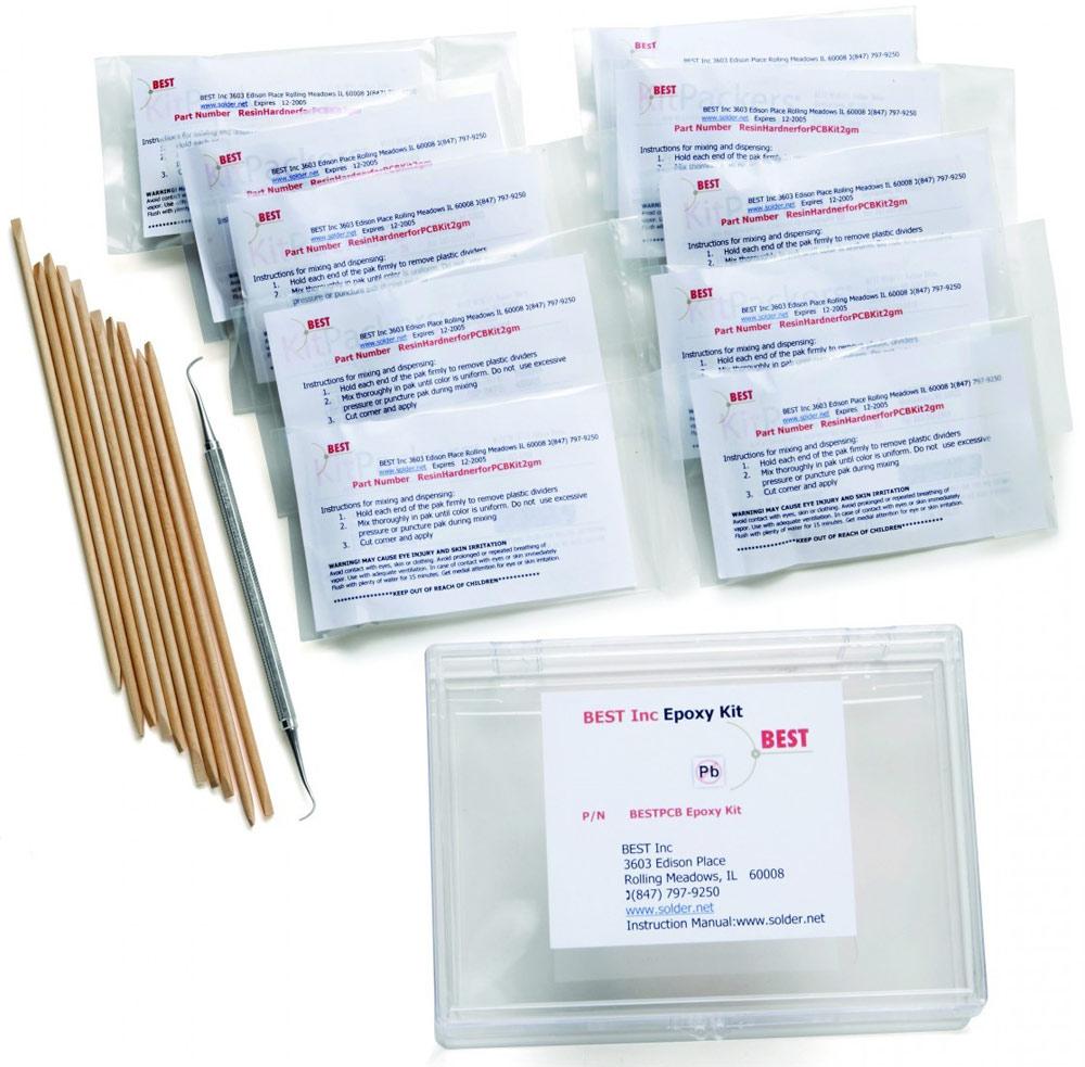 Pcb Epoxy Repair Kit Bga Soldering Tool 12 Different Tools Circuit Board