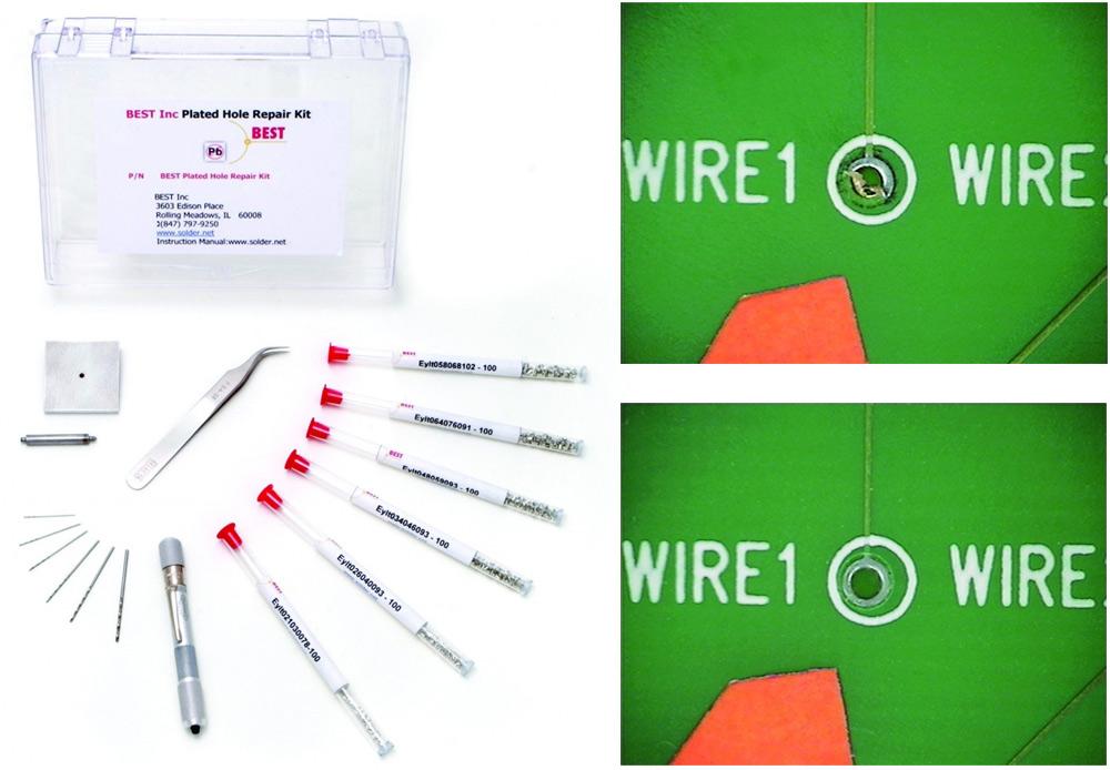 PCB Through-hole Repair Kit