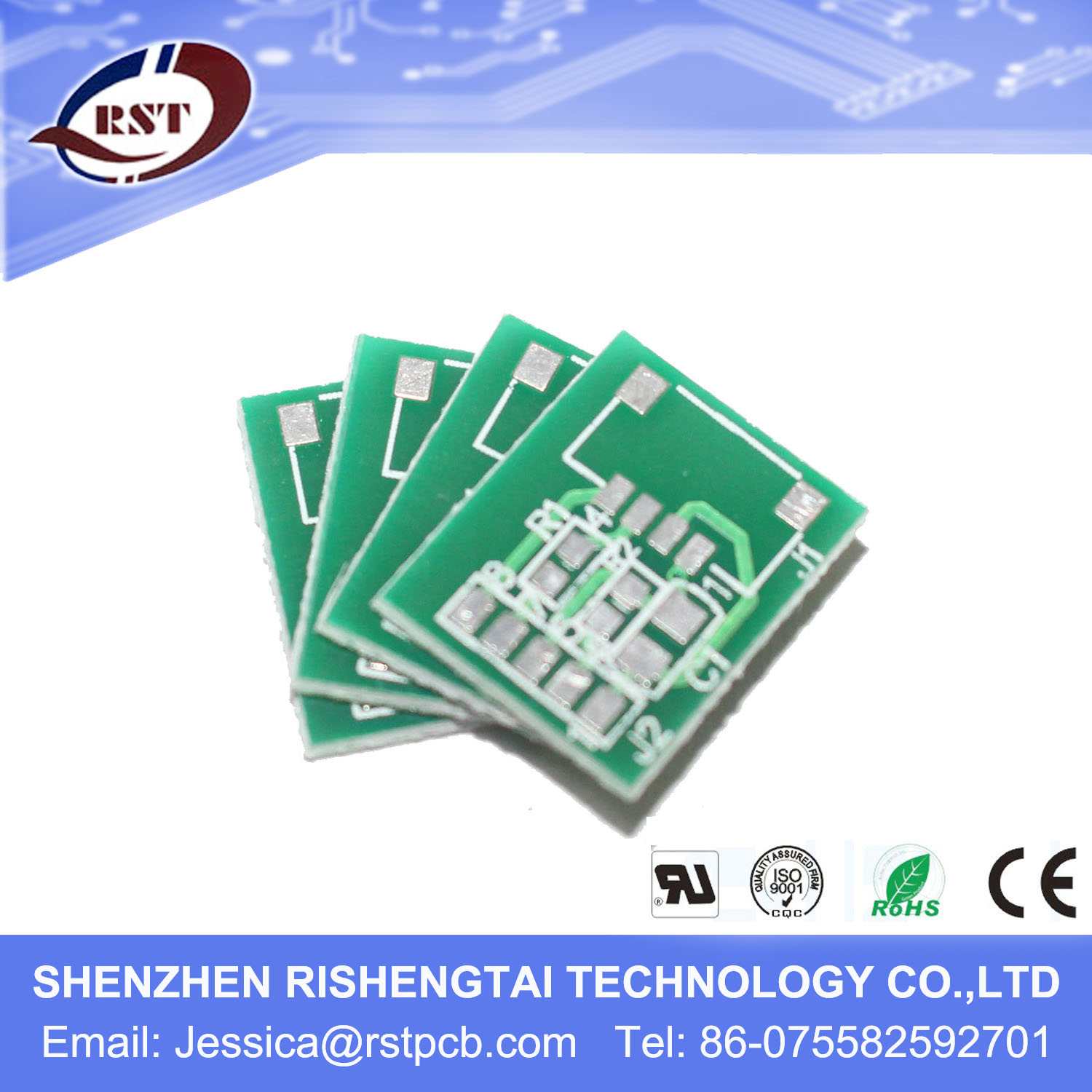 Chinese Pcb Manufacturer China Immersion Gold Circuit