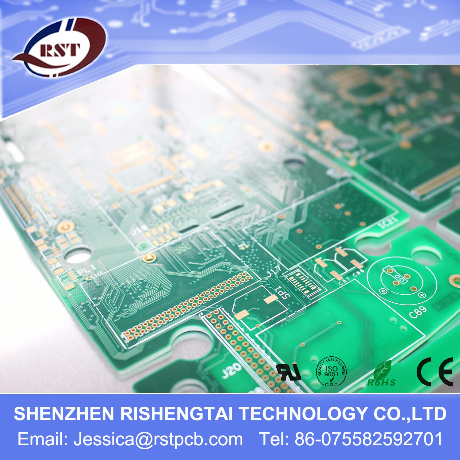 Circuit Board Printers Printed Fabrication Accept Oem Service
