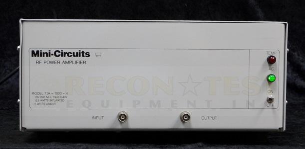mini circuits tia 1000 4 rf instrument amplifier. Black Bedroom Furniture Sets. Home Design Ideas