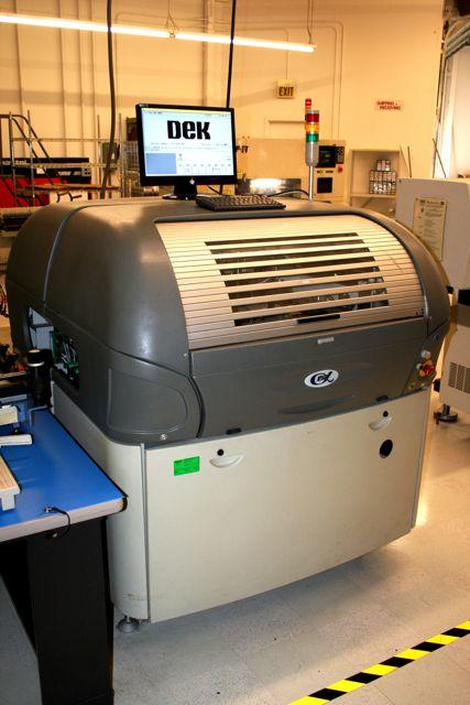 DEK ELA Screen Printer