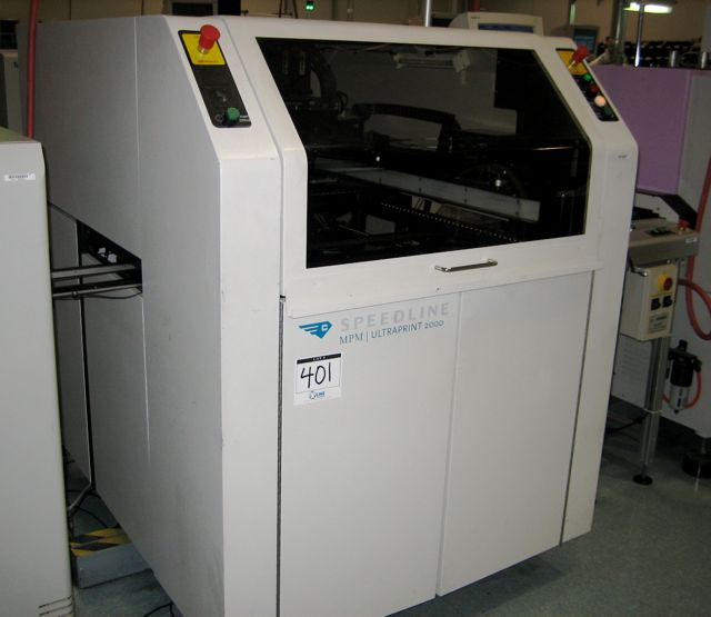 Speedline UP2000/B HiE Screen Printer