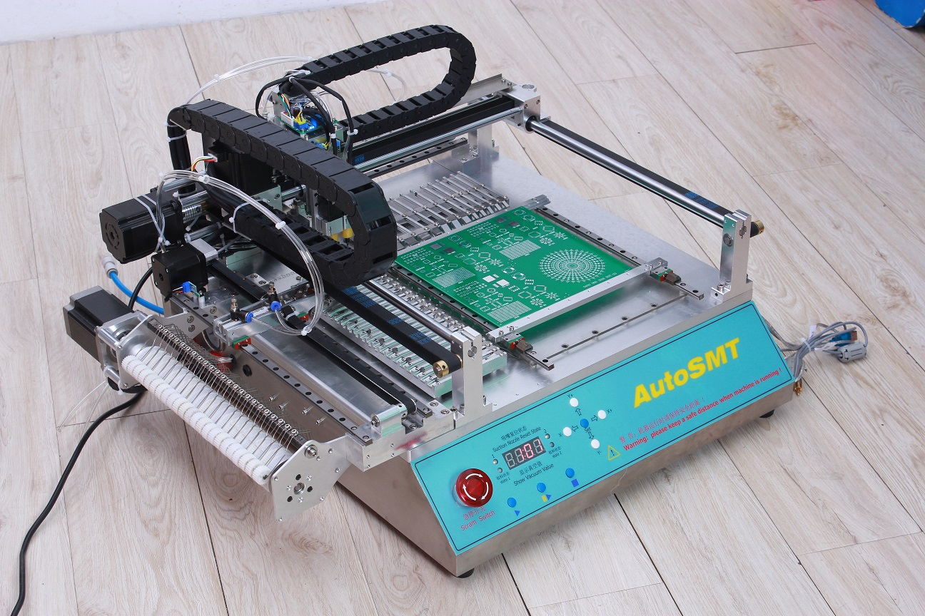 desktop and place machine