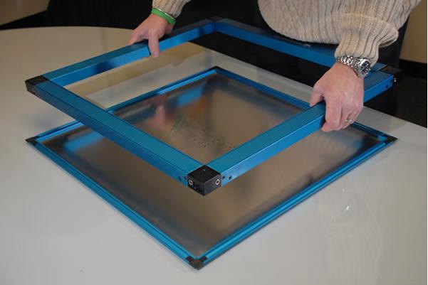 Stencil Kit Eyeglass Frame : VectorGuard - Frameless Stencil Tensioning System
