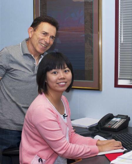 "Manncorp's expansion mode continues with the hiring of Jinlei ""Penny"" Tang as Director of Social Media and Web Analytics. A mechanical engineer holding two masters degrees, Penny, a native of Da Lian, China, is shown with CEO Henry Mann."