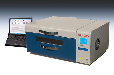 BT300CP is a lead-free-capable batch reflow oven that takes up little more than 27