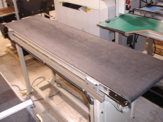 Conveyor Technologies 6' Flatbelt Conveyor