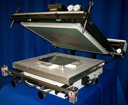 SMT's 1616TC stencil/screen printer