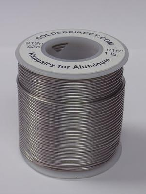 KappAloy9™ - Solder for Aluminum to Aluminum, Copper and Brass