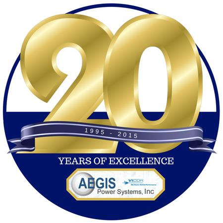 Aegis Power Systems, Inc. celebrates 20 years as a custom power supply design and manufacture center