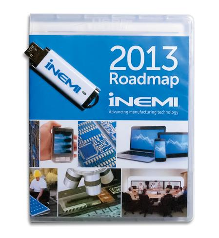 The 2013 iNEMI Roadmap is provided on a USB drive.