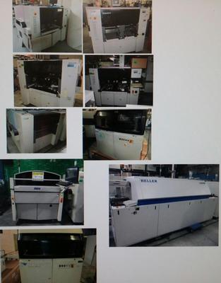 Assembleon Equipment Sale Pick & Place/Sc