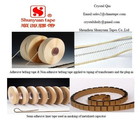 Axial tape for electronic components