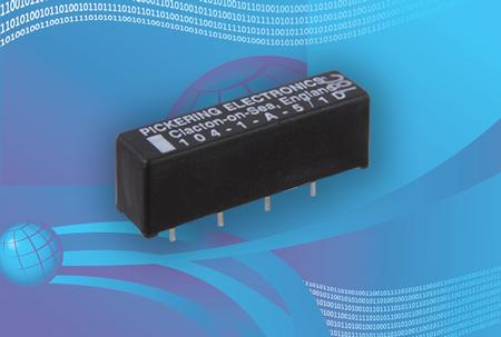 3 Volt Reed Relays from Pickering Electronics.