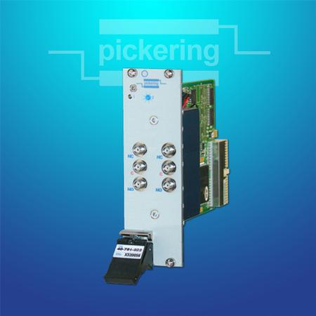 PXI Terminated SPDT Microwave Relay Module (40-781).