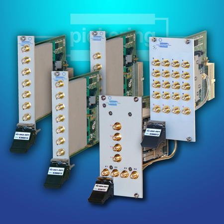 PXI RF Solid State 6 GHz Multiplexers (40-88X)