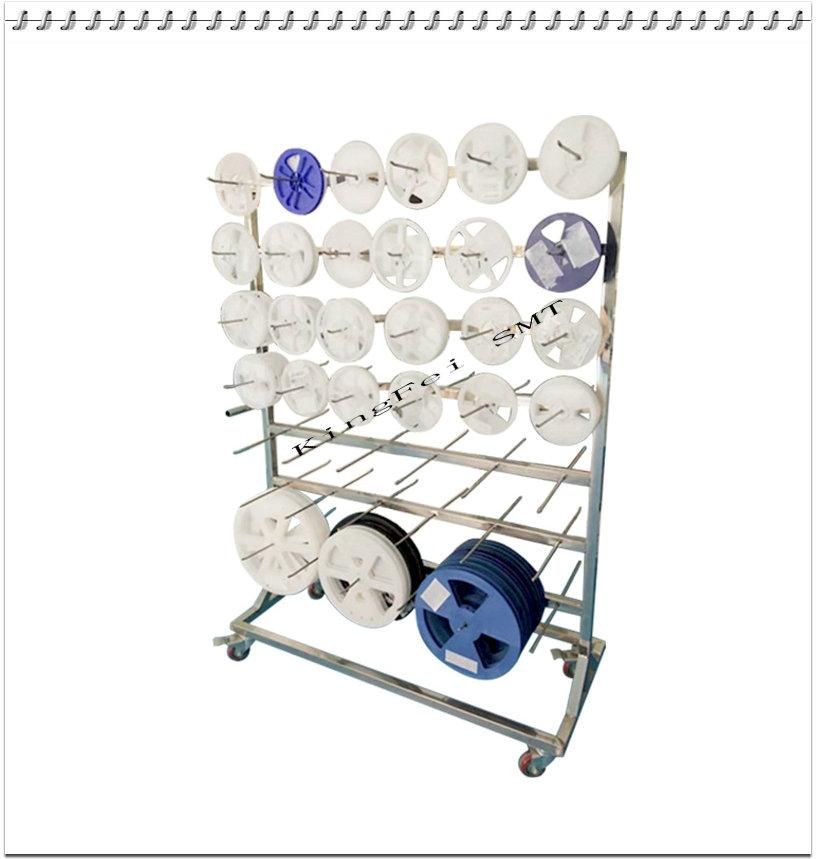 SMT hanging rack electronic factory hanging rack anti-static turnover car can be customized stainless steel tray box car