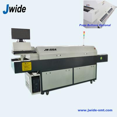 5 zones SMT reflow oven machine with computer optional