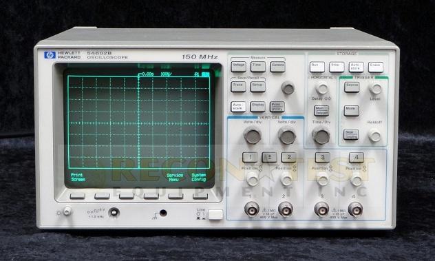 Hp Digital Oscilloscope : Agilent hp b channel mhz digital oscilloscope