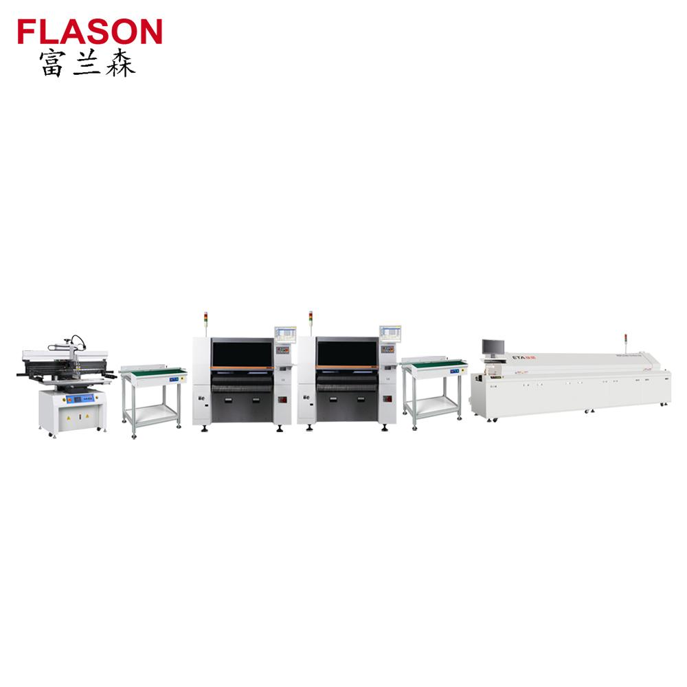 Led Assembly Line Smt Pcba Printer Mounter Pcb Flexible Dip Products Circuit Board Reflow Oven