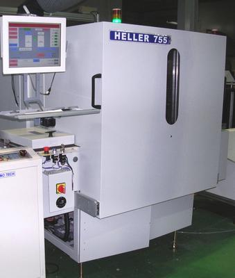 Vertical Curing Mini Oven - Heller 755