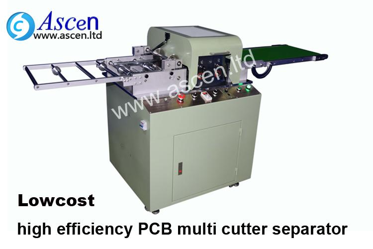PCB depaneling machine with low price on your line