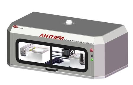 RPS Automation's newest Lead Tinning system, the ANTHEM