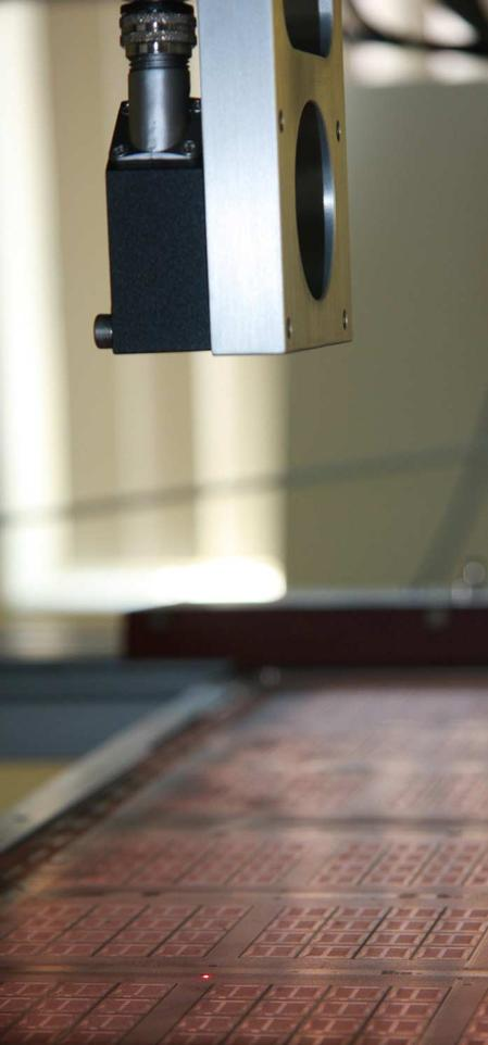 Close up of LaserScan™ 100 in FLS980 application