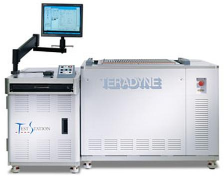Teradyne TestStation LX enables high-quality testing of the latest printed circuit board technologies. Configured with 7,680 test points, the TestStation LX is the highest capacity ICT solution on the market.