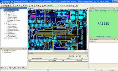 The ScanNavigator software is a leading suite of powerful tools for boundary-scan testing and programming based on the original JTAG standard, IEEE 1149.1.