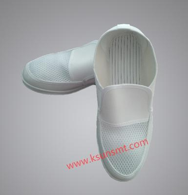 ESD Anti-static shoes leather mesh shoes