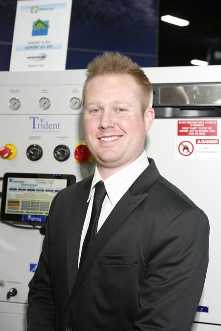 John Hall, Aqueous Technologies' National Sales Manager.