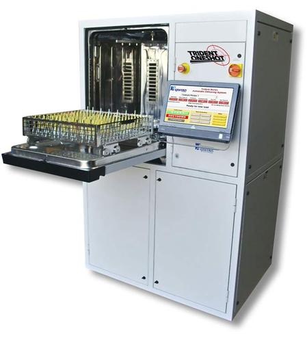 Trident OneShot ,  Aqueous Technologies' New Automatic Defluxing and Cleanliness Testing System
