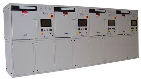 Trident QUAD High-Yield Automatic Defluxing and Cleanliness Testing System.