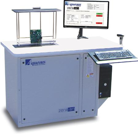 Zero-Ion g3 ionic contamination tester is one of the industry's most popular Resistivity of Solvent Extract (ROSE) testers