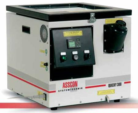 Asscon Q300 Table Top Vapor Phase Soldering Machine