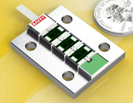 500W RF Termination for High Power DC-4.5GHz Applications.