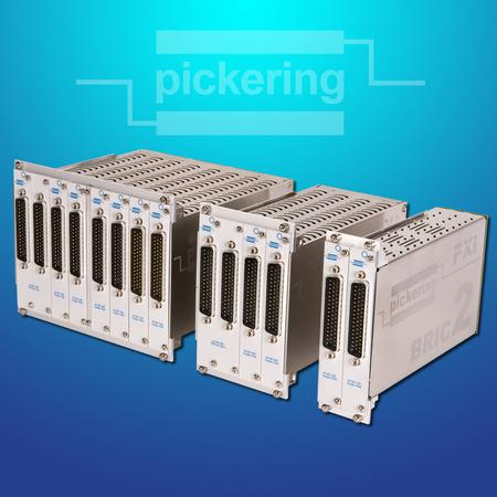 PXI BRIC Family of Large Matrix Modules and Multiplexers.