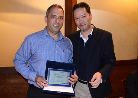 Fuji do Brasil, has awarded BTU for its 16 year partnership. The award was presented to Paul Lancaster during Fuji do Brasil's 20th anniversary celebration in Sao Paulo, Brazil.