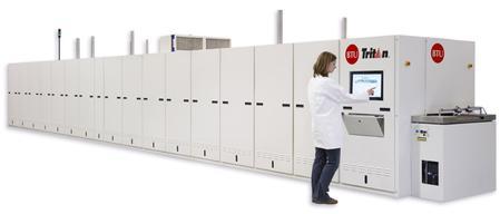 Tritan™ Metallization Firing furnace.