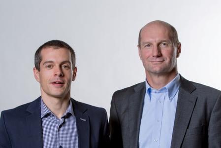 Laser Welding Management Team at LPKF Laser & Electronics AG in Fuerth, Germany: Frank Brunnecker (left) and Armin Schalk (right).