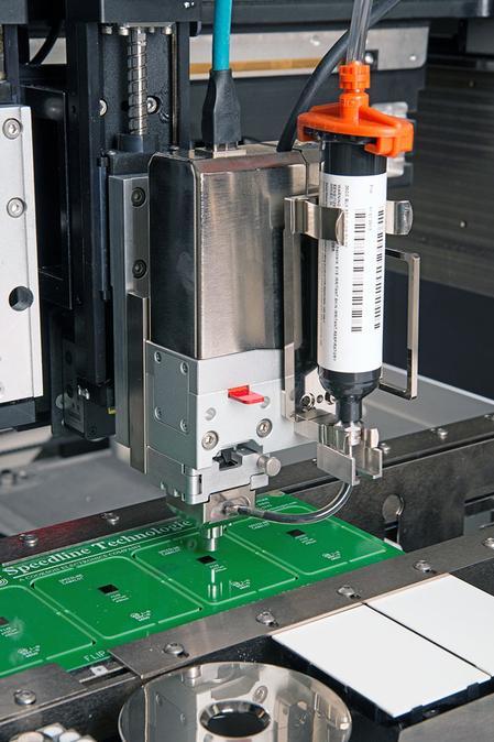 NanoShot™ closed-loop dot-on-demand pump.