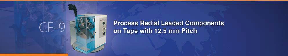 Precision Lead Former for Taped RADIAL Components (CF-9)